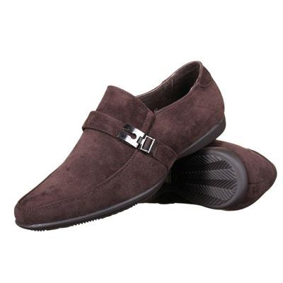 Chaussure derbie à détail métallique  bleu Reservoir Shoes  La Redoute