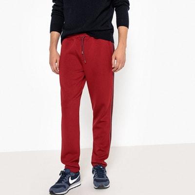 Spodnie dresowe, elastyczna gumka w pasie, pasek z boku nogawki Spodnie dresowe, elastyczna gumka w pasie, pasek z boku nogawki La Redoute Collections