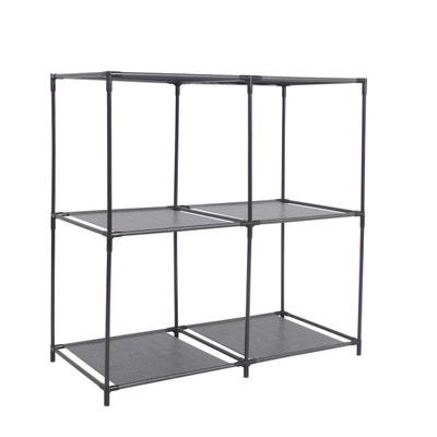 etagre cube modulable 4 cases 685 x h 70 cm noir