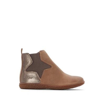 Boots cuir Vermillon Boots cuir Vermillon KICKERS