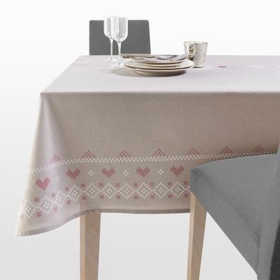 """Tischdecke """"Chalet"""" aus reiner Baumwolle, bestickt und bedruckt Tischdecke """"Chalet"""" aus reiner Baumwolle, bestickt und bedruckt La Redoute Interieurs"""