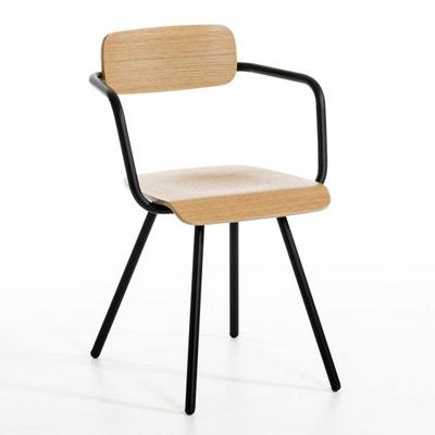 chaise noire en solde la redoute. Black Bedroom Furniture Sets. Home Design Ideas