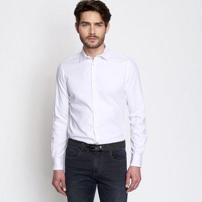 2d4e717cf89c4 chemise homme casual unie chemise homme casual unie DEVRED. Soldes