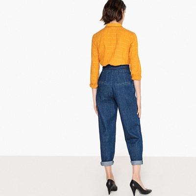 Pantalon large taille haute Pantalon large taille haute La Redoute Collections