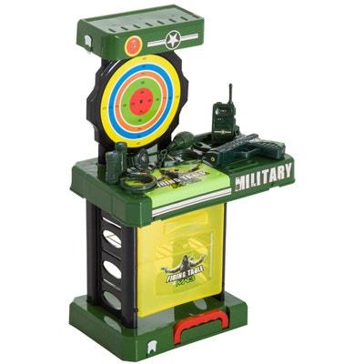 Jeu de tir militaire + accessoires pour enfants Jeu de tir militaire + accessoires pour enfants HOMCOM