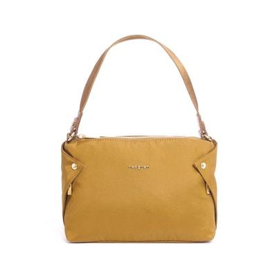 Pochette sac à main bandoulière nylon finitions cuir Pochette sac à main bandoulière nylon finitions cuir HEDGREN