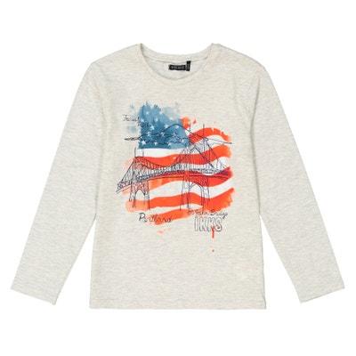 Camisola com bandeira americana, 3 - 14 anos Camisola com bandeira americana, 3 - 14 anos IKKS JUNIOR
