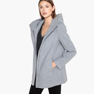 bd3f90659dac9 Manteau col montant en drap de laine Manteau col montant en drap de laine  VERO MODA