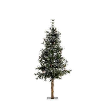 Sapin de Noël Frosted New Foxtail avec tronc en bois Sapin de Noël Frosted New Foxtail avec tronc en bois EL CORTE INGLES