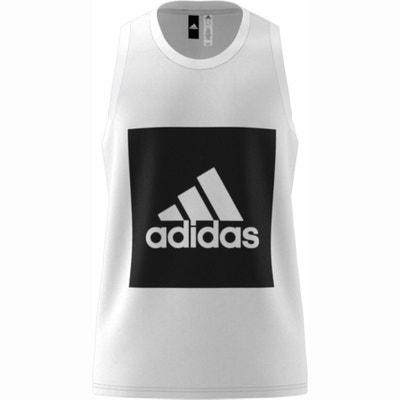 Camiseta sin mangas de deporte con serigrafía ADIDAS PERFORMANCE