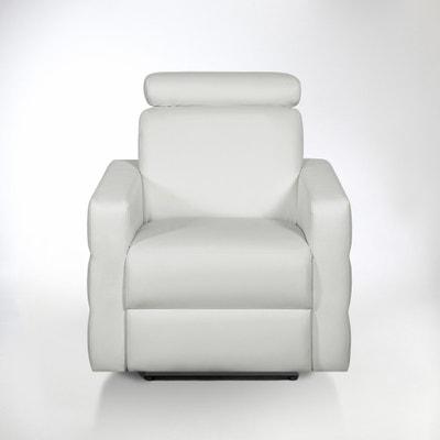 Fauteuil de relaxation électrique cuir, Hyriel Fauteuil de relaxation électrique cuir, Hyriel La Redoute Interieurs