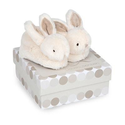 Le mie piccole pantofole Lapin bonbon - DC1310 Le mie piccole pantofole Lapin bonbon - DC1310 DOUDOU ET COMPAGNIE