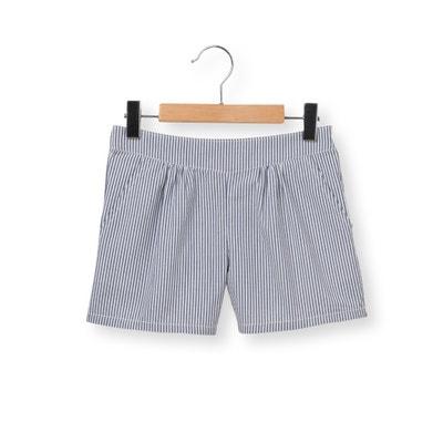Striped Seersucker Shorts, 3-12 Yrs Striped Seersucker Shorts, 3-12 Yrs La Redoute Collections
