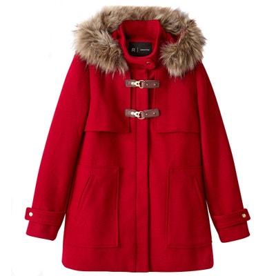 Duffle-coat à capuche et fourrure synthétique Duffle-coat à capuche et fourrure synthétique La Redoute Collections
