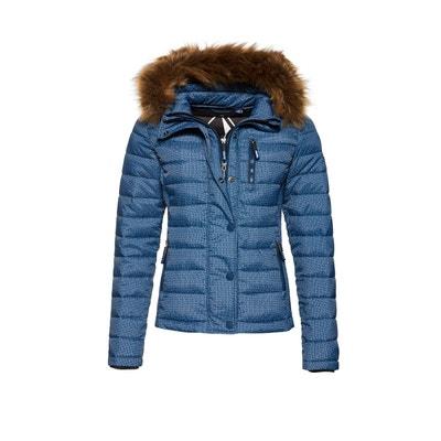 Veste à capuche à double zip Fuji Slim SUPERDRY