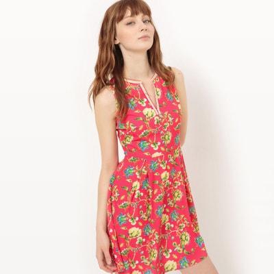 Floral Print Sleeveless Dress MOLLY BRACKEN