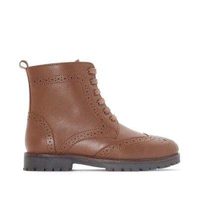 Boots laçage montagne 26-39 La Redoute Collections