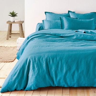 100% Pre-Washed Linen Duvet Cover La Redoute Interieurs