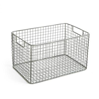 Cesto contenitore, in maglia di metallo Cesto contenitore, in maglia di metallo La Redoute Interieurs