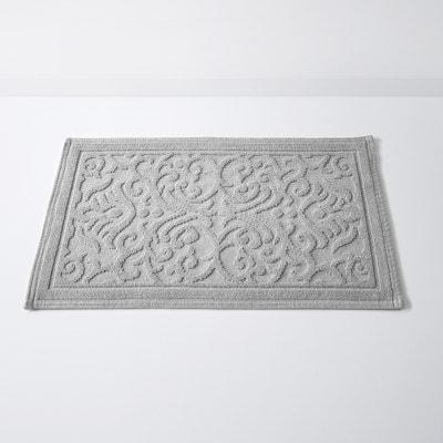 DAMASK Cotton Bath Mat with Textured Motif (1500g/m²) La Redoute Interieurs