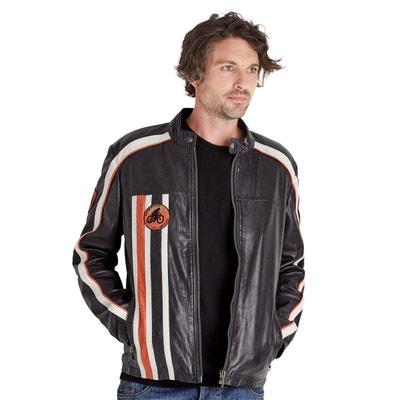 Veste Moto Cuir Véritable Rétro Joe Brown Homme JOE BROWNS 88ead07624b2