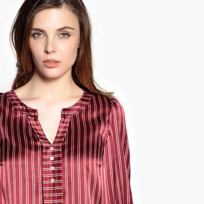 Блузка в полоску с рукавами 3/4 ANNE WEYBURN