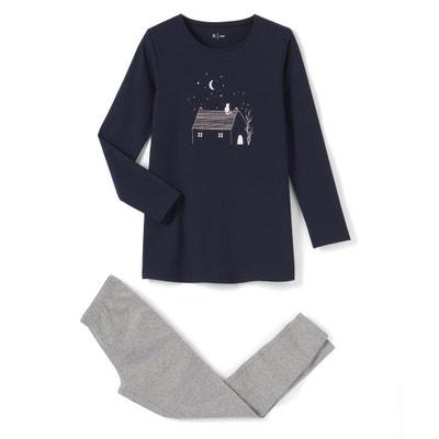 Pijama de algodón 10-16 años La Redoute Collections