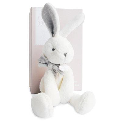 J'aime Mon Doudou Taupe Rabbit - 30cm DOUDOU ET COMPAGNIE