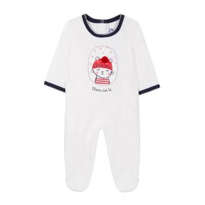 Pyjama en velours 3 mois - 18 mois Pyjama en velours 3 mois - 18 mois ABSORBA