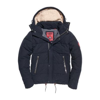 New Academy Short Hooded Padded Jacket New Academy Short Hooded Padded Jacket SUPERDRY