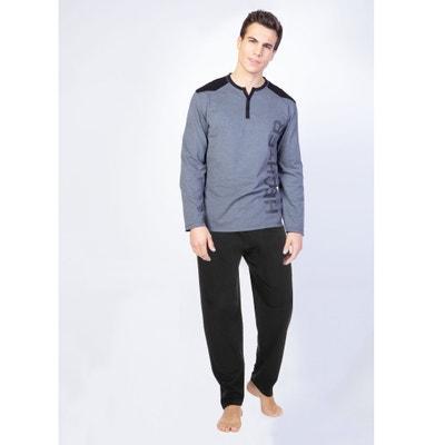 2-teiliger Pyjama mit langen Ärmeln 2-teiliger Pyjama mit langen Ärmeln DANIEL HECHTER LINGERIE