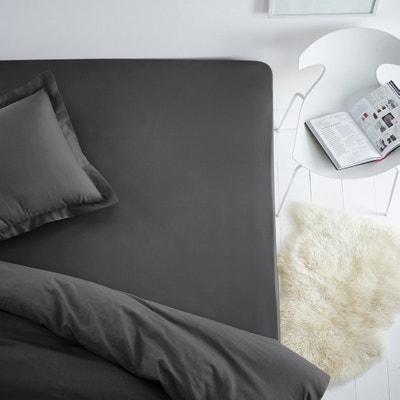 Lenzuolo con angoli in cotone per materassi standard Lenzuolo con angoli in cotone per materassi standard La Redoute Interieurs