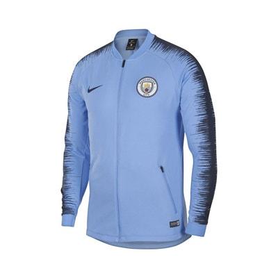 5ef202e675df9 Veste Manchester City Nike Anthem Bleu NIKE