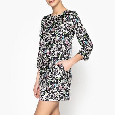 Piperita Printed Silk Dress MOMONI