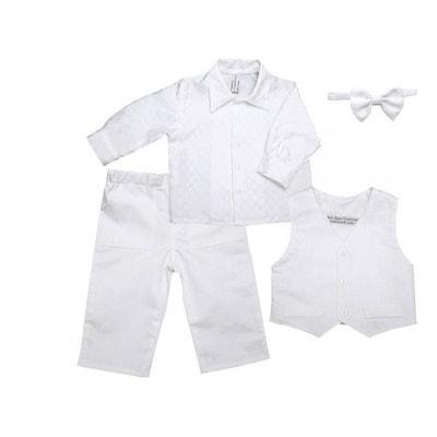 Veste blanc bebe bapteme