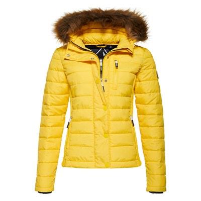 3662513b078d Manteau hiver femme jaune moutarde – Vestes élégantes populaires