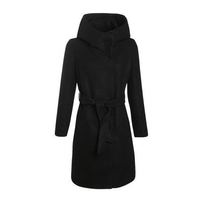 Noir Ceinture Femme En Manteau Avec Redoute Solde La Pw5gZHqB 3a6af7d528c