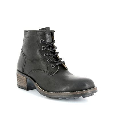 Boots Carthy mit Absatz, Leder Boots Carthy mit Absatz, Leder P-L-D-M-BY PALLADIUM