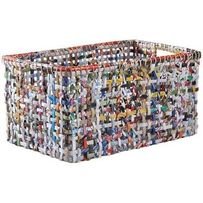 Corbeille de rangement en papîer recyclé 46 cm Corbeille de rangement en papîer recyclé 46 cm AUBRY GASPARD