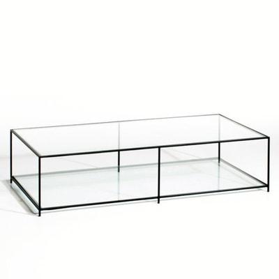 Mesa baja rectangular de vidrio templado, Sybil AM.PM.