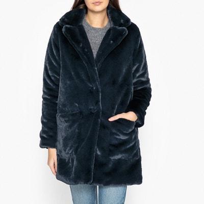 Langer Mantel aus Webpelz REINA Langer Mantel aus Webpelz REINA BERENICE
