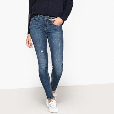 Skinny-Jeans mit Strass-Details Skinny-Jeans mit Strass-Details LIU JO