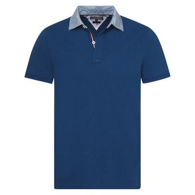 Short-Sleeved Piqué Polo Shirt Short-Sleeved Piqué Polo Shirt TOMMY HILFIGER