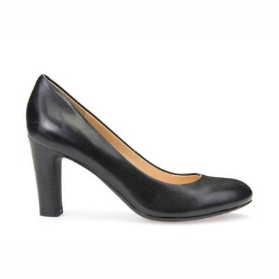 D N Mariele H Leather Heels GEOX