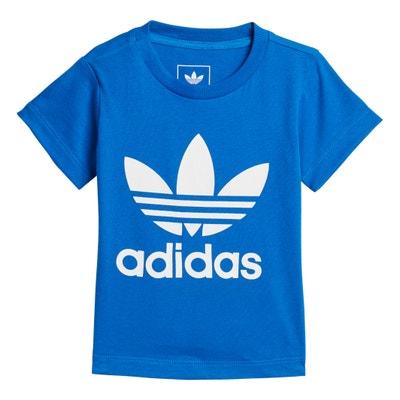 T-Shirt mit Rundhalsausschnitt, unifarben Adidas originals