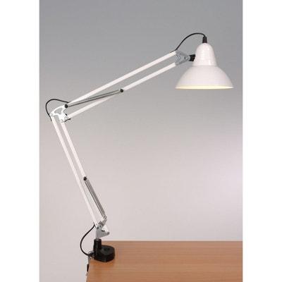 Grande lampe à poser articulée sur étau Grande lampe à poser articulée sur étau ALUMINOR