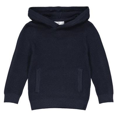 Пуловер с капюшоном, 3-12 лет Пуловер с капюшоном, 3-12 лет La Redoute Collections