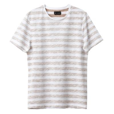 Camiseta con cuello redondo y manga corta Oeko Tex Camiseta con cuello redondo y manga corta Oeko Tex La Redoute Collections
