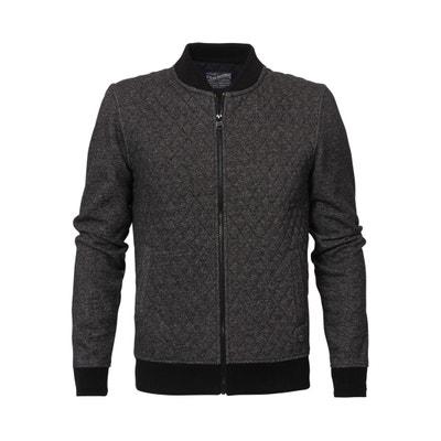 Collarless Cotton Mix Sweatshirt PETROL INDUSTRIES