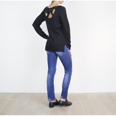 Trui in fijn tricot met ronde hals LE TEMPS DES CERISES